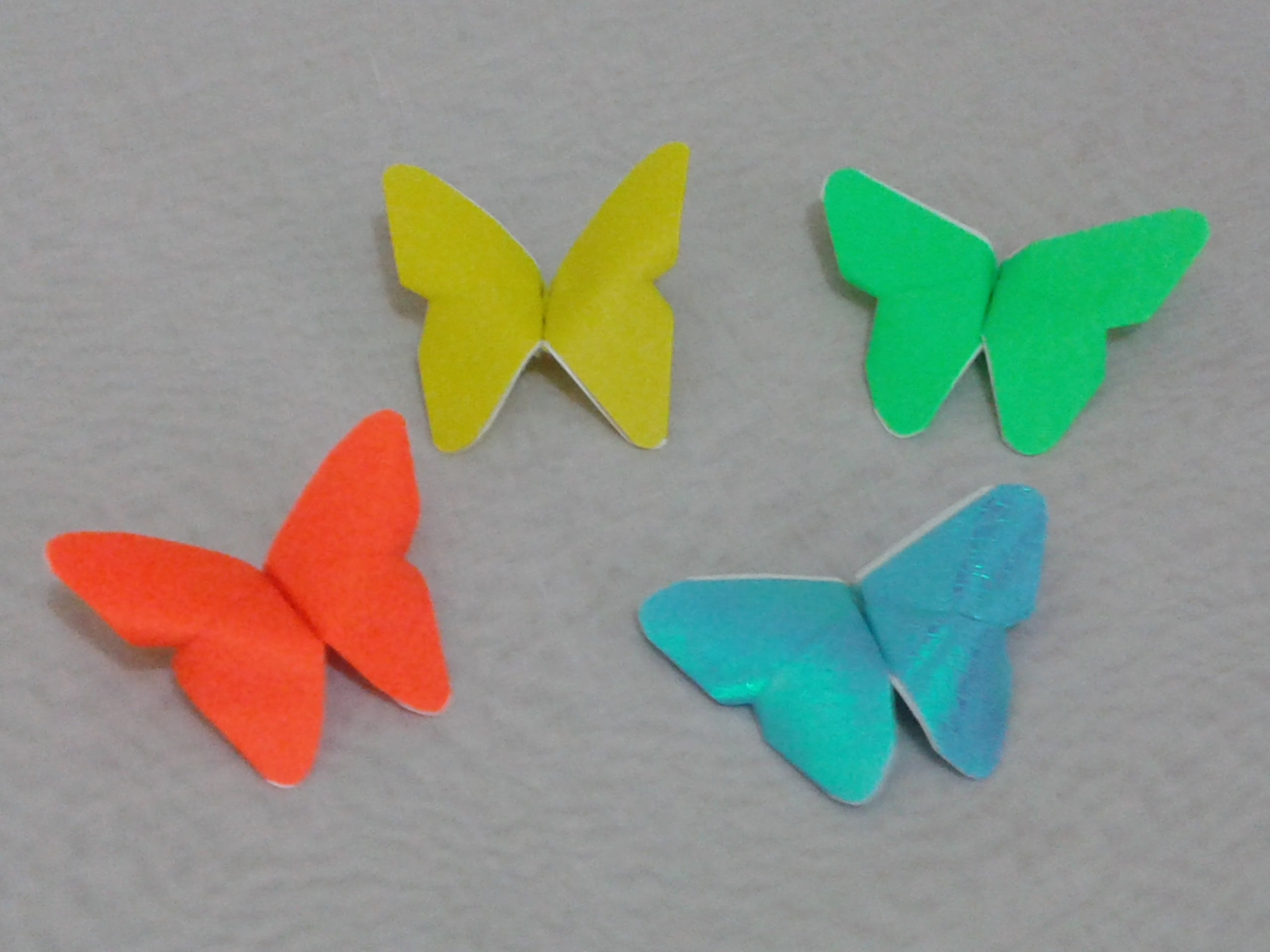 easy steps to make an origami butterfly - DriverLayer ... - photo#21